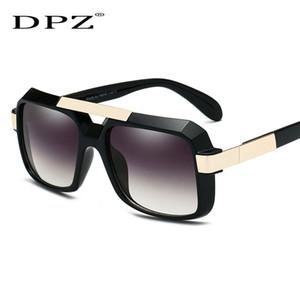 2019 DPZ Мужчины женщины солнцезащитные очки Марка Черный Квадрат Оттенки UV400 Градиент Солнцезащитные Очки оригинальной упаковке