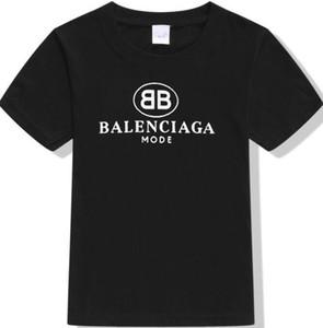 الأولاد قصيرة الأكمام تي شيرت 100٪ القطن الخالص 2020 ملابس الصيف الأطفال الجديد ملابس الأطفال طفلة أسفل قميص T-shirt قميص المد NO 03
