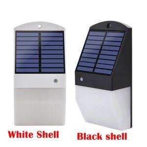 Lámpara LED de 25 luces solares al aire libre Iluminación solar Energía solar Luz solar a prueba de agua IP65 Pared Jardín solar Luz Sensor de movimiento