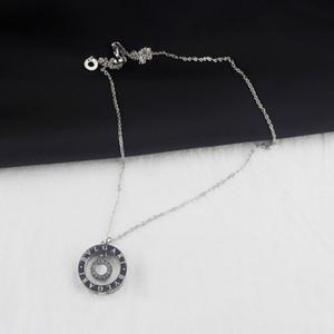 İnci Düğün Nişan Takı Circle Döner kolye kolye Kadınlar 925 Gümüş Kolye Anne