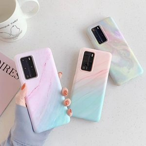 Marble Texture Soft Silicon TPU Phone Case for Samsung S20 Plus Ultra S9 S10 Plus A40 A50 A70 A51 A71 Note 10 Pro