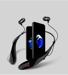 Cuffie senza fili di Bluetooth di qualità superiore con il pacchetto al minuto duro Y98 CSR 4.1 Cuffie sportive dei trasduttori auricolari del collo con il mic DHL libera il trasporto