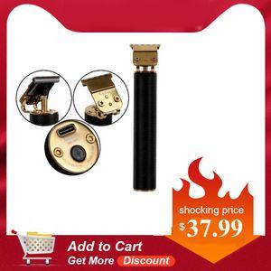 2020 Newest Gift Kemei 1971 Electric Pro Li T-Outliner Skeleton Heavy Hitter Trimmer USB Men 0mm Baldheaded Hair Clipper Finish UIdTK