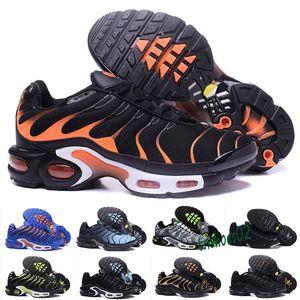 2019 casual shoes Original 2018 NEW TN Plus Men Shoes For Cheap Tn Plus white Black blue casual Shoes Tn Requin Chaussures 40-46 n46
