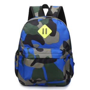 Venda quente Clássico Camuflagem Saco de Impressão das Crianças Mochilas Personalidade mochilas Crianças Mini Saco de Escola para 1-3 idades Escolar Y190601
