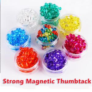 42 шт Push pin сильные неодимовые магниты конусы магниты супер Магнит pinboard офис thumbtack шахматы магнитные push pins