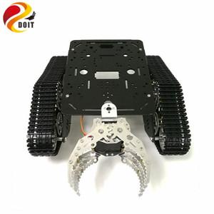 Tank шасси с механическими Кло, гусеничное шасси с захватным, гусеничной техникой, Tank робот, RC танком для DIY проекта Robot