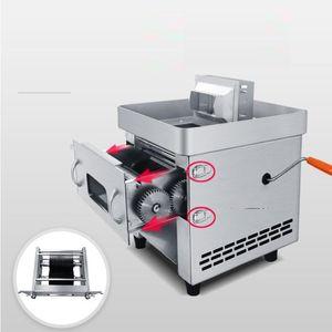 2020 الساخن بيع المنزلية التجاري الانسحاب اللحوم شفرة آلة قطع 850W الفولاذ المقاوم للصدأ التلقائي تقطيع اللحوم أجاد آلة كتر