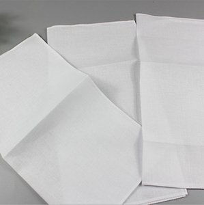 DIY Lenços de 100% Favor Cotton Desenhe lenços de bolso Handkerchief Partido lenço casamento personalizado Praça 28 * 28 cm Atacado WZW-YW3266