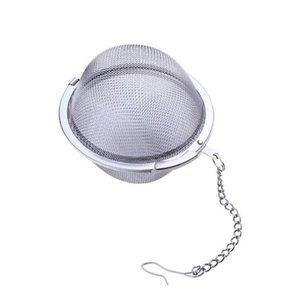 Stainless Steel Tea Pot Infuser Sphere malha coador de chá Filler esfera do filtro de bola 5 centímetros LX1331 Atacado