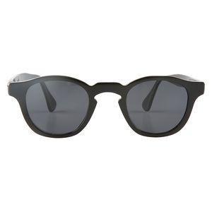 tatil seyahati için popüler çiçek burun köprüsü siyah manda boynuzu UV400 polarize güneş gözlüğü boynuz gözlük gözlük sürüş