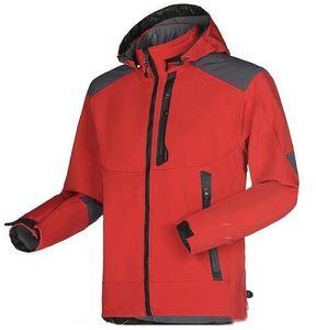 Men's Waterproof Breathable Softshell Jacket Men hooded Outdoors Sports Coats Women Ski Hiking Windproof Winter Outwear Soft Shell jacket