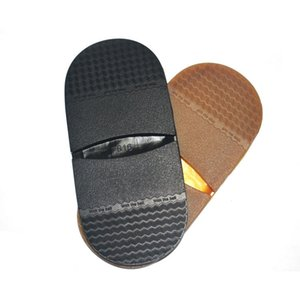 1pair Heel plana de borracha DIY substituição macia Shoe Soles Protector sola Thicken Repair Anti Slip Elastic Homens Mulheres