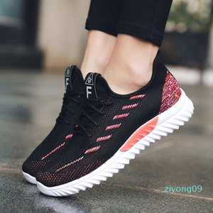 Women Espadrilles Running Shoes Breathable Wear-resistant Comfort Mesh Air Cushion Solid Casual Shoes Pump Espadrilles Gift z09