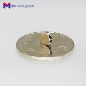2018 냉장고 자석 100PCS는 작은 원형의 NdFeB 네오디뮴 디스크 직경 6mm X 1.5mm의 N35 슈퍼 강력한 강한 희토류 자석을 일괄