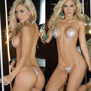 Sıcak Seksi Lingerie Mayo Exotic Mikro Bikini G-String Thong Mayo 2020