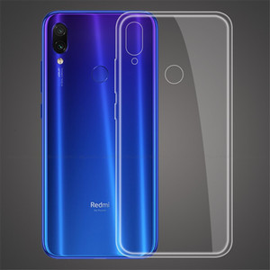 100pcs Case transparent Ultra Thin Soft Cover für Hirse Redmi 7A S2 6 5 Plus 7PRO 5A IR K20 Abdeckung Silizium TPU Software-Abdeckung