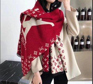 Wholesale- verkauft heiße weibliche Schal Schal warmen luxuriösen weiblichen Herbst Winter Schal das gute Zusammenstellung der Klimaanlage Zimmer
