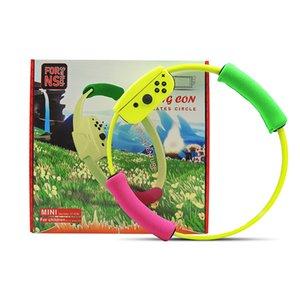 Pour NS Basculez Anneau Con Pilates Cercle Mini pour les enfants avec la jambe sangle Ring Fit Adventure Diamètre 27.5cm