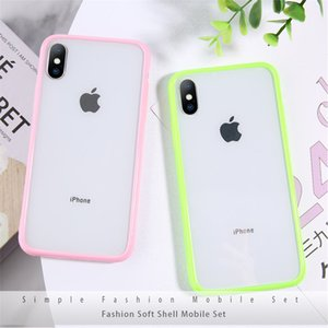 Transparent Shockproof Phone Case For iPhone 11 Pro Max X XR Xs Max 6 6s 7 8 Plus Soft TPU Simple Clear Cover