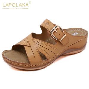 Lapolaka New Beach Urlaub Wandern Sole Frauen Schuhe Freizeit Sommer Sandale Hausschuhe Damen