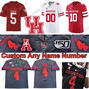 Houston pumas jersey del fútbol universitario NCAA Chandler Smith Singleton Trahan Robinson Ed Oliver Josh Jones D. J. Hayden Ware Klingler