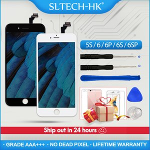 Grade A+ For iPhone 6 6S Plus LCD With 3D Force Touch Screen Digitizer Assembly For iPhone 5S Display No Dead Pixel