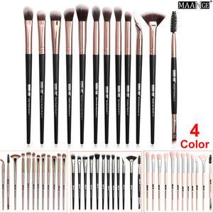 Pincéis de Maquiagem Dos Olhos Em Pó Fundação Sombra de Olho Pincel Sobrancelha Pestana Delineador Pincel de Mistura Conjunto de Cosméticos Make Up Brush 12 Pcs kit