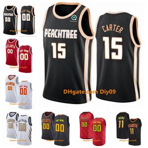 Atlanta personalizzatoHawksJersey John Collins 20 Trae 11 Giovane Cam 22 Reddish Città swingman Edition Basketball Maglie Bianco Rosso Nero