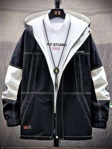 Japanese Casual Men Jackets Waterproof Spring Hooded Coats Men Outerwear Male Hoodie Clothing Bomber Jacket Young Design EE9JK