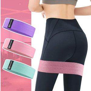 Yoga stretch band Hip Trainer Training Pull Rope For Sports Pilates Hip belt Fitness Loop Resistance Bands Squat belt