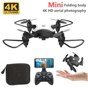 KY902 2.4G 360 Degree Rotation 4 Channels 6 Axis Gyro ABS Mini RC Drone Rechargeable With Storage Bag Foldable Helicopter Kids