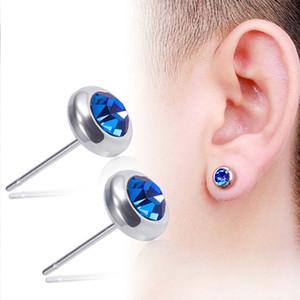 Pendientes de diamante de acero inoxidable Mujeres Pendientes para hombre Earings Stud Ear Anillos Joyería Will y regalo de arena 350199