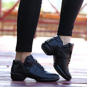 Primavera di nuovo stile inferiore molle è accogliente e moderno ballo scarpe Hight-top Jazz scarpe Scarpe Piazza ballo per le donne Donna