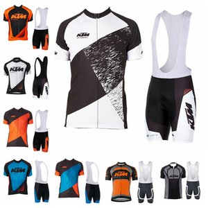 KTM 2019 squadra ciclismo maniche corte jersey pantaloncini senza maniche gilet set vendita calda traspirante e asciugatura rapida mountain bike vestiti 52719