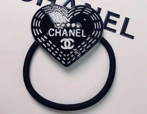 bandes de caoutchouc de cheveux de la marque de mode de haute qualité détachables double couche anneau cheveux de corde de tête en cuivre pour le cadeau vip 7865