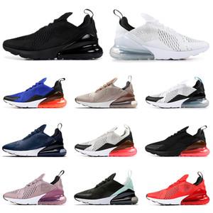 Nike air max 270 Cojín con los calcetines y los zapatos corrientes de buena calidad de amortiguación de goma zapatillas hombre entrenadores de malla transpirable de amortiguación