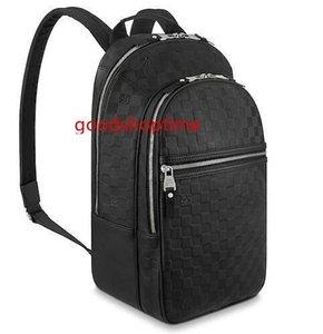 N41330 Michael Fashion Men Black Classic Backpacks Fashion Shows Oxidized Leather Business Bags Handbags Totes Messenger Bags
