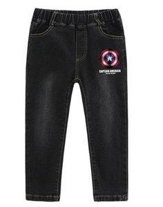 Yeni Çocuk En çok satan Jeans Kore versiyonu Çocuk Yakışıklı Boş Pantolon Fabrikası Direkt Satış Wear
