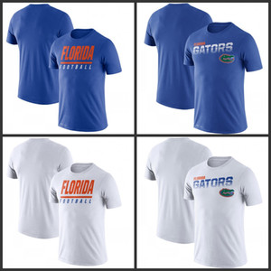 Florida Gators Sideline Legend-Leistungs-T-Shirts gedruckt kurze Hülse O-Ansatz T-Fußball College Team Sports-T-Shirts