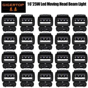 Цена со скидкой 20 единиц Новый 16x25w RGBW 4в1 паук Красочный светодиодные луча Moving головной свет хорошо для партии