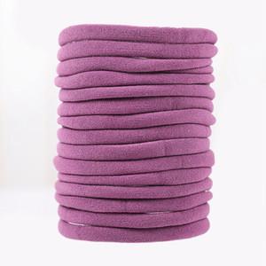 100pc Nude Nylon bebê headbands Nylon tamanho um elástico fits all Super fina e macia Stretchy massa DIY Craft Bebê de alimentação HB388 Duche