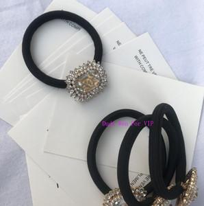nueva banda de pelo clásico de metal con el lazo de pelo de la aleación de buena calidad regalo del partido pelo ROP tiempo colección de accesorios de perlas marcas C de lujo