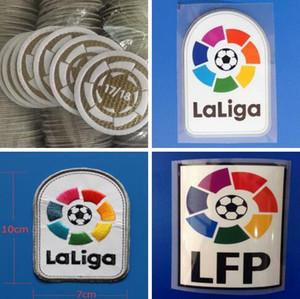 La Liga 2016 2017 2018 2019 adesivi per calcio LFP stampa a caldo distintivi per calcio patch di ricamo di buona qualità su bracciali in jersey di calcio