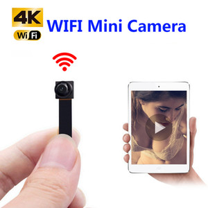 HD 1080P DIY Portable WiFi IP Mini Camera P2P Wireless micro webcam Videocamera Videoregistratore Supporto Vista remota Scheda TF nascosta