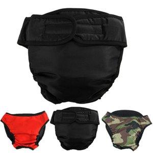 Perro del pañal del panal para la incontinencia temporada pantalones 4 colores ajustable tamaño S-XL del perrito