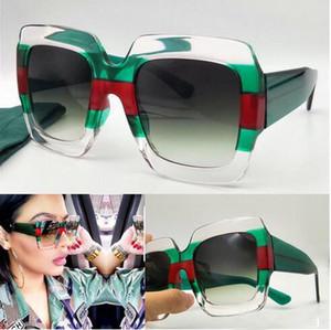 Neue Modedesigner-Frauen-Sonnenbrille 0178 Quadratmehrfarbenrahmen hochwertigen uv400 Objektivschutz Brillen mit ursprünglichem Kasten