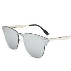 Göz Güneş Erkekler Kadınlar Gözlük Marka Sunglasses Tasarımcısı Marka Spike Bisiklet Kedi Vintage Siyam Rahat Güneş Gözlüğü Açık Fashio MQQX