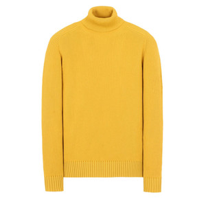18FW 535C2 TURTLENECK WOOL SWEATER TOPSTONEY Männer Frauen High Collar Sweater Fashion HFLSMY052