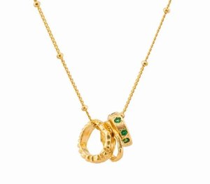 custom jewelry necklace emerald necklace pendant fashion necklace 2020 for women dubai jewelry sets gold plated